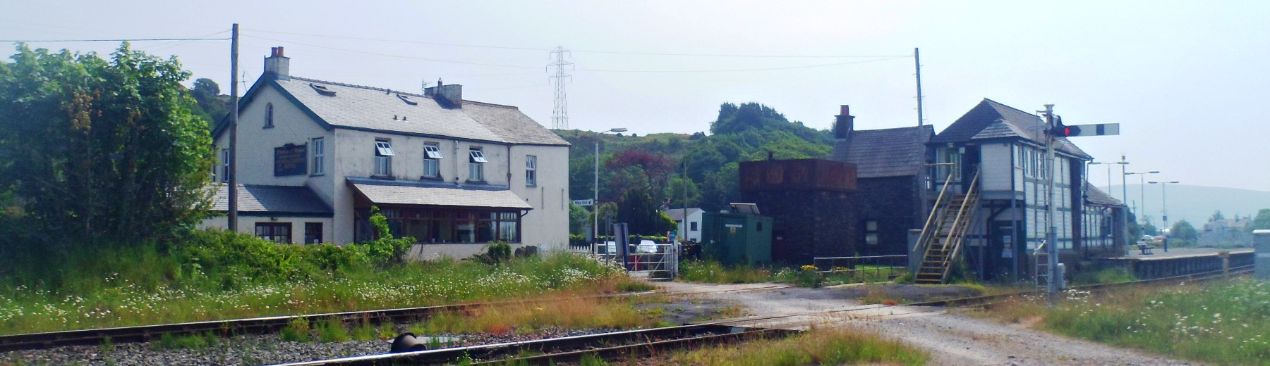 Photo looking accross from Foxfield station